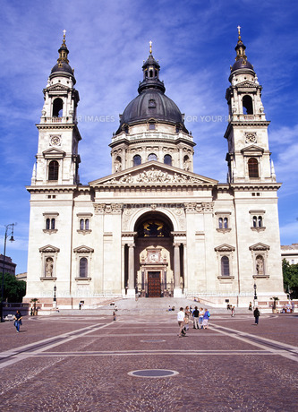 聖イシュトバーン大聖堂の写真素材 [FYI00035235]