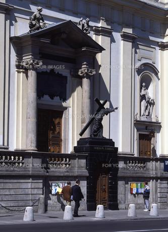 聖十字架教会の写真素材 [FYI00035294]