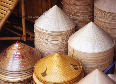 ベトナム笠の写真素材 [FYI00035306]