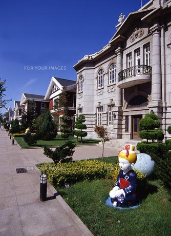 旧日本人街の写真素材 [FYI00035350]