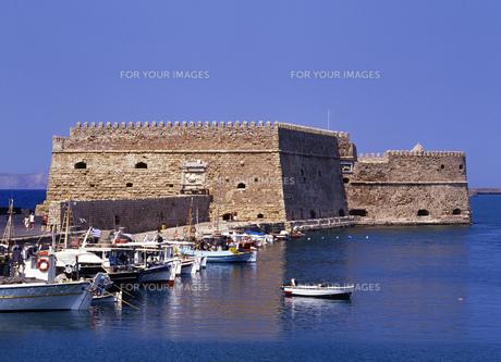 ベネチア時代の要塞の写真素材 [FYI00035436]