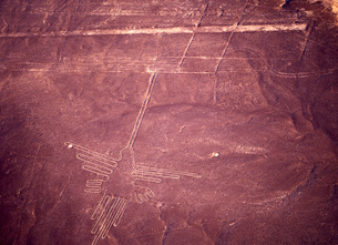 ナスカの地上絵の写真素材 [FYI00035443]