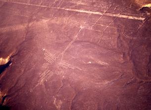 ナスカの地上絵の写真素材 [FYI00035444]