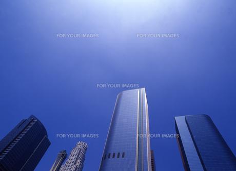 高層ビルの写真素材 [FYI00035448]
