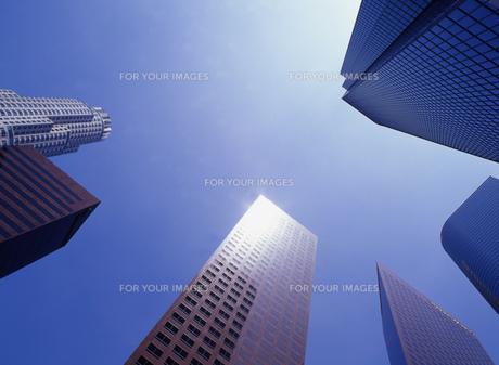 高層ビルの写真素材 [FYI00035449]