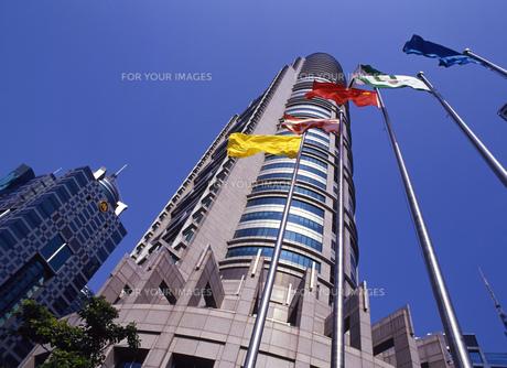 上海の高層ビルの写真素材 [FYI00035486]