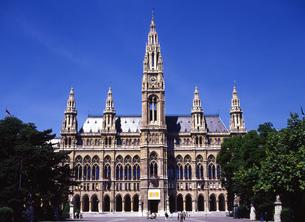 ウイーン市庁舎の写真素材 [FYI00035502]