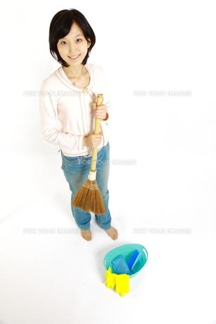 掃除の写真素材 [FYI00035665]