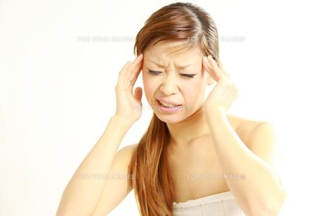 頭痛の写真素材 [FYI00036032]