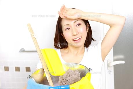 掃除の写真素材 [FYI00036210]