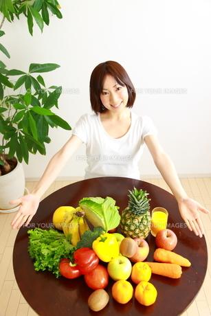 野菜と果物の写真素材 [FYI00036283]
