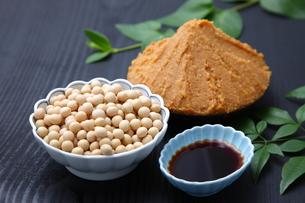 大豆加工食品の写真素材 [FYI00036496]