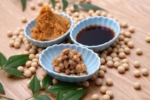 大豆加工食品の写真素材 [FYI00036520]