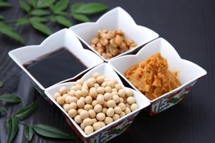 大豆加工食品の写真素材 [FYI00036532]