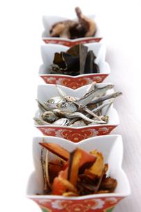 日本の代表的な乾物の写真素材 [FYI00036535]