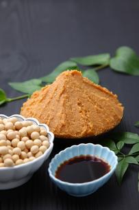 大豆加工食品の写真素材 [FYI00036545]
