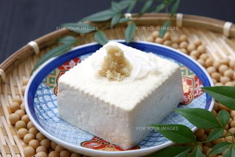 豆腐の写真素材 [FYI00036563]