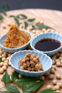大豆加工食品の写真素材 [FYI00036568]