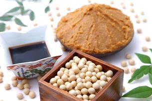 大豆加工食品の写真素材 [FYI00036585]