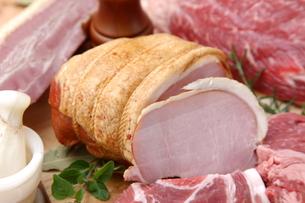 色々な肉の写真素材 [FYI00036656]