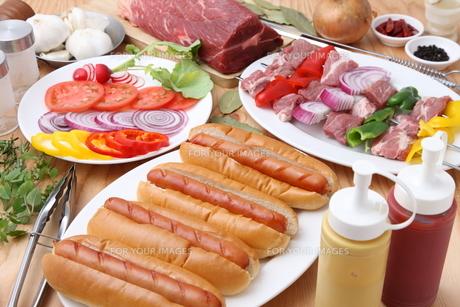 パーティ料理の写真素材 [FYI00036680]