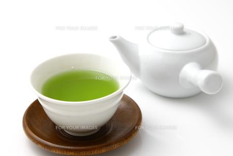 日本茶の写真素材 [FYI00036707]