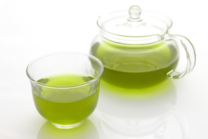 日本茶の写真素材 [FYI00036724]