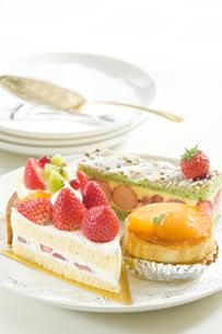 ケーキの写真素材 [FYI00036790]