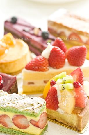ケーキの写真素材 [FYI00036797]
