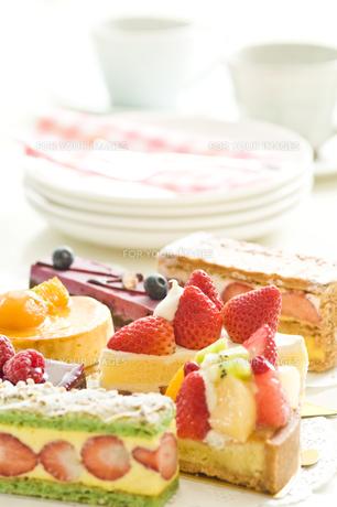 ケーキの写真素材 [FYI00036850]