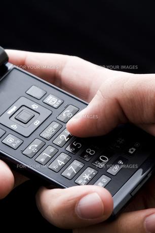 携帯の写真素材 [FYI00036988]