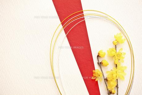 正月飾りの写真素材 [FYI00037359]