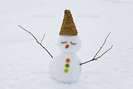 雪だるまの写真素材 [FYI00037443]