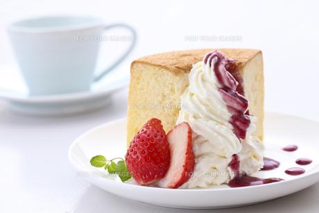 ケーキの写真素材 [FYI00037543]