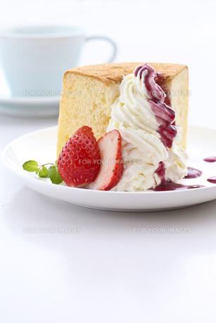 ケーキの写真素材 [FYI00037554]