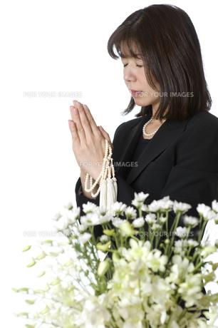 葬儀の写真素材 [FYI00037593]