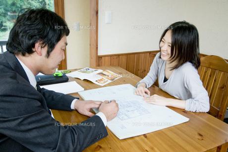住宅営業の素材 [FYI00037646]