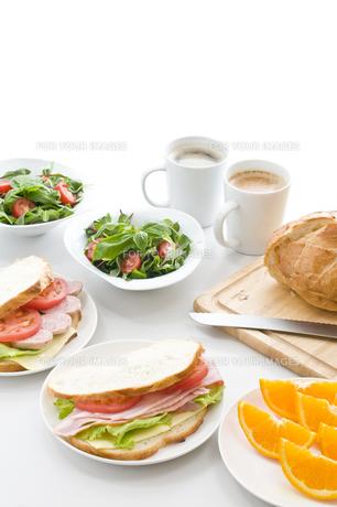 朝食の写真素材 [FYI00037756]