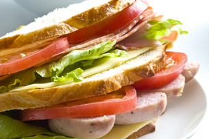 サンドイッチの写真素材 [FYI00037771]