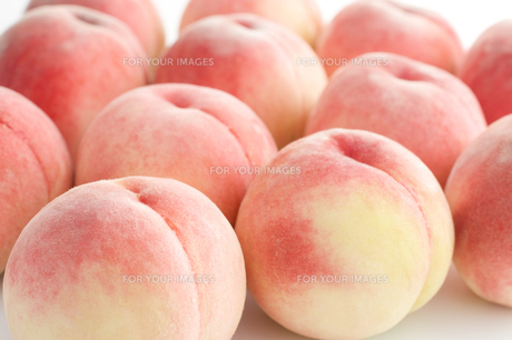桃の写真素材 [FYI00037810]