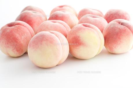 桃の写真素材 [FYI00037818]