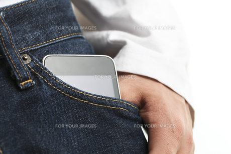 スマートフォンの写真素材 [FYI00037938]
