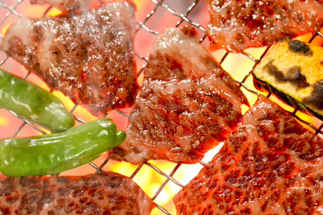 焼き肉の写真素材 [FYI00038412]