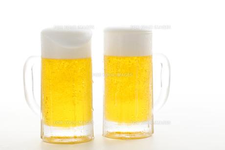生ビールの写真素材 [FYI00038561]