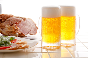 ビールの写真素材 [FYI00038662]
