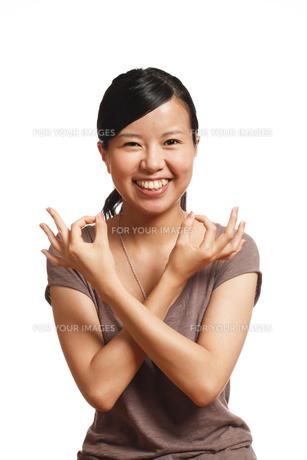 若い女性の写真素材 [FYI00038783]