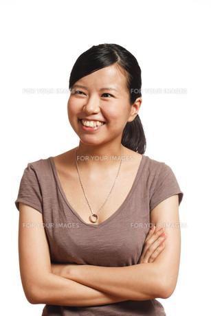 若い女性の写真素材 [FYI00038785]