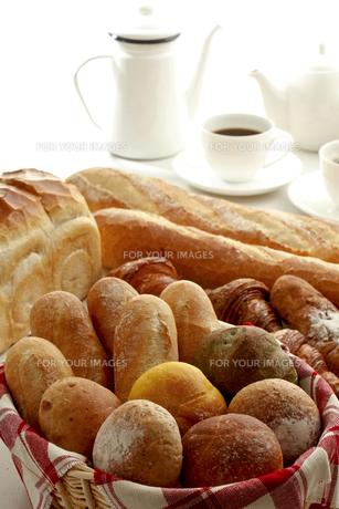 パンとコーヒーの素材 [FYI00038960]