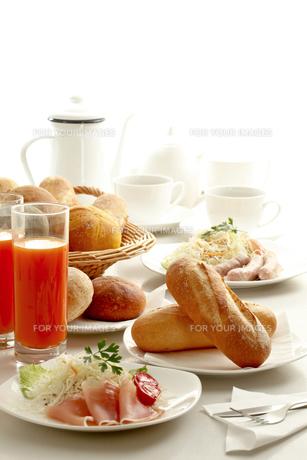 朝食の写真素材 [FYI00039013]