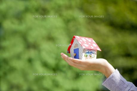 かわいい家の写真素材 [FYI00039089]